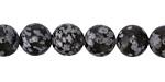 Snowflake Obsidian Round 10mm