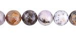 Amethyst Sage Agate Round 10mm