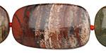 Apple Jasper Flat Freeform Piece 22-38x22-23mm
