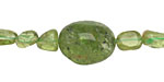 Peridot Graduated Tumbled Nugget 6-16x5-12mm