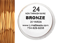 Parawire Bronze 24 gauge, 20 yards