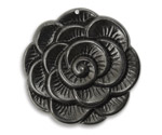 Vintaj Arte Metal Blooming Flower Pendant 38mm