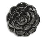Vintaj Arte Metal Blooming Flower Pendant 38mm