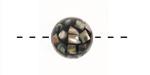 Abalone Mosaic Round 14mm