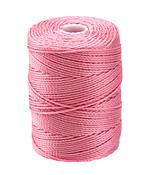 C-Lon Pink (.5mm) Bead Cord