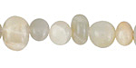 Moonstone (rainbow) Pebble 7-9x10-13mm