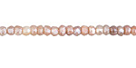 Peach Moonstone w/ Mystic Luster Faceted Rondelle 2-3x3-4mm