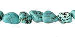 Turquoise Magnesite Nugget 6-15x6-10mm