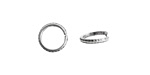 Nunn Design Antique Silver (plated) Hammered Edge Jump Ring 10mm