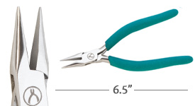 Classic Wubbers Chain Nose Pliers 6.5""