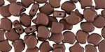 Matte Dark Bronze Matubo Ginkgo Leaf 7.5mm Seed Bead