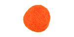 Tangerine Felt Round 20mm