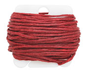 Country Red Irish Waxed Linen 12 ply