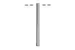 Silver (plated) Bar Drop 2x29mm