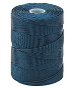 C-Lon Peacock Blue Fine Weight (.4mm) Bead Cord