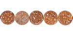 Canyon Druzy Coin 10mm