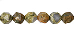 Rhyolite Star Cut Round 8mm