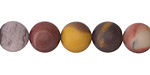 Mookaite (matte) Round 10mm