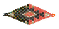Havana Nights Hand Woven Diamond 59x25mm