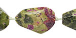 Stichtite Faceted Nugget 25-35x15-21mm