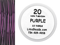Parawire Purple 20 Gauge, 10 yards