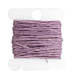Lavender Irish Waxed Linen 3 ply