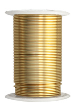 Beadalon ColourCraft Wire Gold Color 18 gauge, 10 Yards