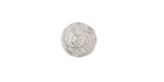 Heather Gray Felt Round 10mm