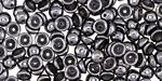 Hematite Teacup 2x4mm Seed Bead