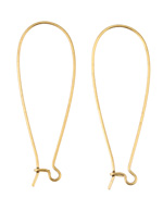 Nunn Design Gold (plated) Kidney Earwire