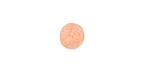 Apricot Felt Round 10mm