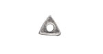 Greek Pewter Triangle Washer (large hole) 11mm