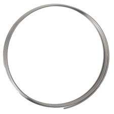 Remembrance Stainless Steel Heavy Gauge Memory Wire Large Bright Bracelet .25 oz.