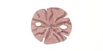 Medium Amethyst Recycled Glass Sand Dollar 20mm