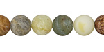 Antique Soochow Jade (Matte) Round 10mm