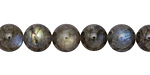 Labradorite (dark) Round 9-10mm