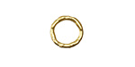 Vintaj 10K Gold (plated) Organic Ring 12mm