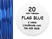 Parawire Flag Blue 20 Gauge, 6 Yards