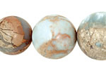 Impression Jasper Round Graduated 12-24mm