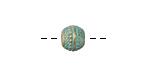 Zola Elements Patina Green Brass (plated) Seaspray Round 8x9mm
