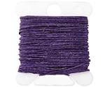 Plum Irish Waxed Linen 3 ply
