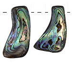 Abalone Freeform Polished Drops 13-23x27-40mm