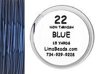 Parawire Blue 22 Gauge, 15 Yards