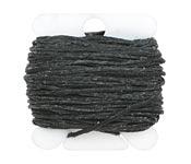 Black Irish Waxed Linen 6 ply