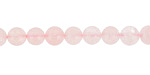Rose Quartz (A) Round 6mm