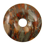 Gray Rainbow Jasper Donut 45mm