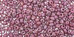 TOHO Opaque Rainbow Frosted Blackberry Magatama 3mm Seed Bead