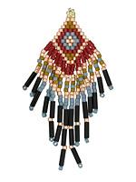Rodeo Hand Woven Boho Fringe 30x58mm