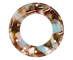Zola Elements Mermaid Acetate Donut Chandelier 27mm