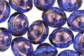 Czech Glass Bronzed Sapphire UFO 8x10mm